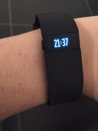 Mijn Fitbit Charge HR