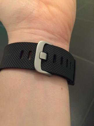 De sluiting van mijn Fitbit Charge HR